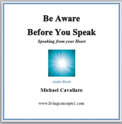 Be Aware Before You Speak Audio Cover